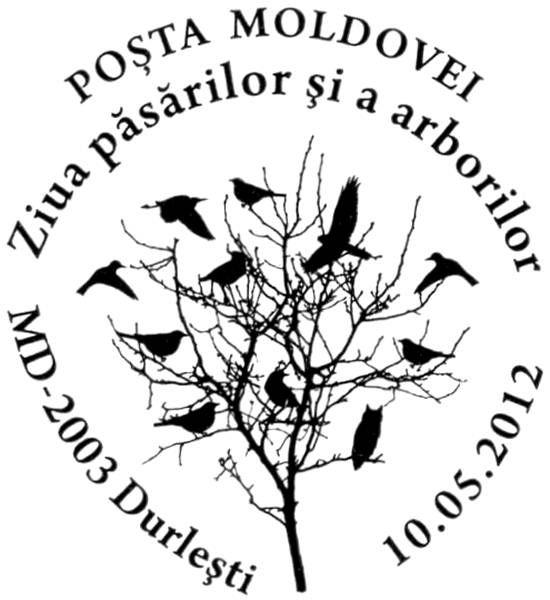 Special Commemorative Cancellation | Postmark: Durleşti MD-2003 10/05/2012