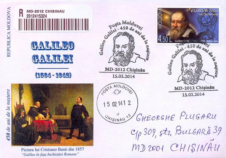 № CS2014/1 - Galileo Galilei - 450th Birth Anniversary