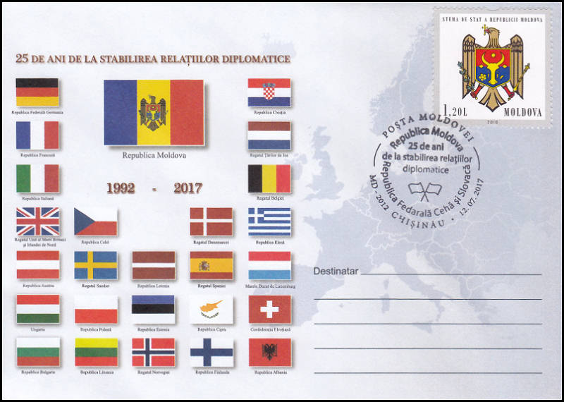 № CS2017/35 - Diplomatic Relations with the Czech and Slovak Federative Republic - 25 Years