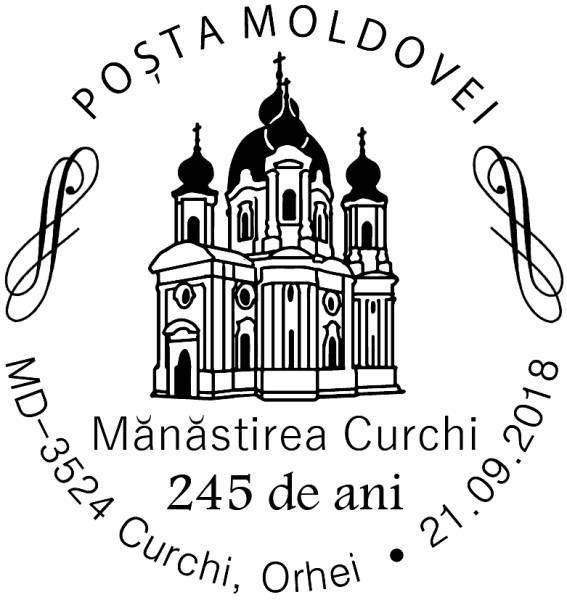 Special Commemorative Cancellation | Postmark: Orhei MD-3524 Curchi 21/09/2018