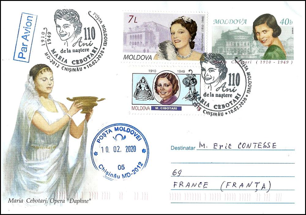 № CS2020/1 - Maria Cebotari - 110th Birth Anniversary