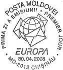 № CF203 - EUROPA 2008 - Letter Writing 2008