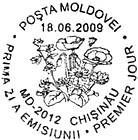 First Day Cancellation   Wild Flowers of Moldova