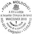№ CF235 - Winter Olympic Games, Vancouver 2010 2010
