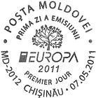 First Day Cancellation | EUROPA 2011 - Forests
