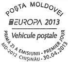 № CF288 - EUROPA 2013 - Postal Vehicles 2013