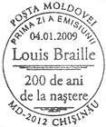 № CFU231 - Louis Braille - Bicentennial 2009
