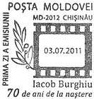 № CFU295 - Iacob Burghiu - 70th Birth Anniversary 2011