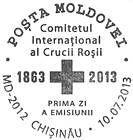 № CFU334 - International Red Cross Committee - 150th Anniversary 2013