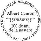 № CFU340 - Albert Camus - 100th Birth Anniversary 2013