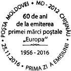 № CFU 381 - First «EUROPA» Postage Stamps - 60th Anniversary 2016