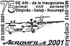 Inauguration of the First Air Route: Chisinău-Galați-Bucharest - 75th Anniversary 2001