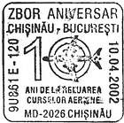 Flights Between Chișinău and Bucharest - 10th Anniversary 2002
