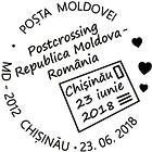 Special Commemorative Cancellation | POSTCROSSING Meeting: Republic of Moldova and Romania - Chisinau