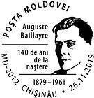 № CS2019/21 - Auguste Baillaуre - 140th Birth Anniversary
