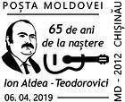 Ion Aldea-Teodorovici - 65th Birth Anniversary 2019