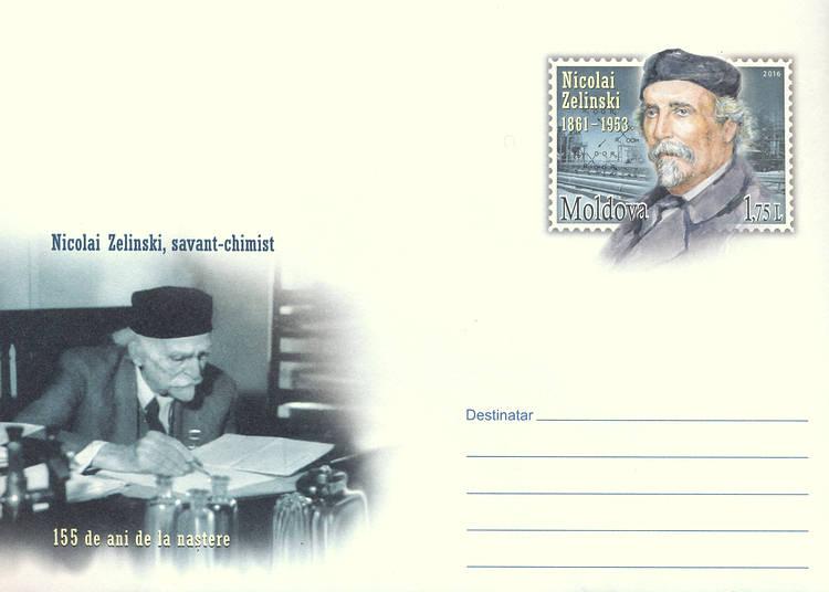 Envelope: Nicolai Zelinsky (Address Side)