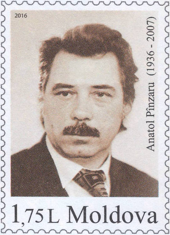 Fixed Stamp: Anatol Pînzaru (1936-2007)