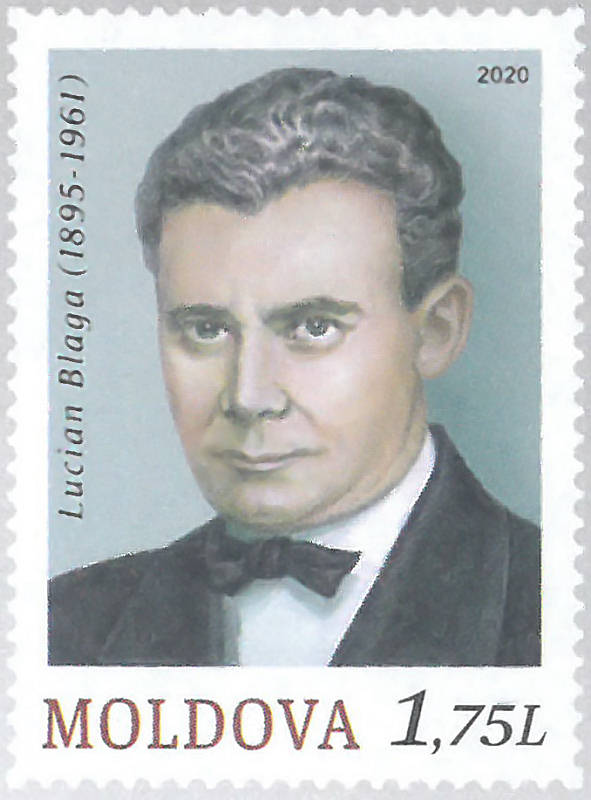 Fixed Stamp: Lucian Blaga (1895-1961)