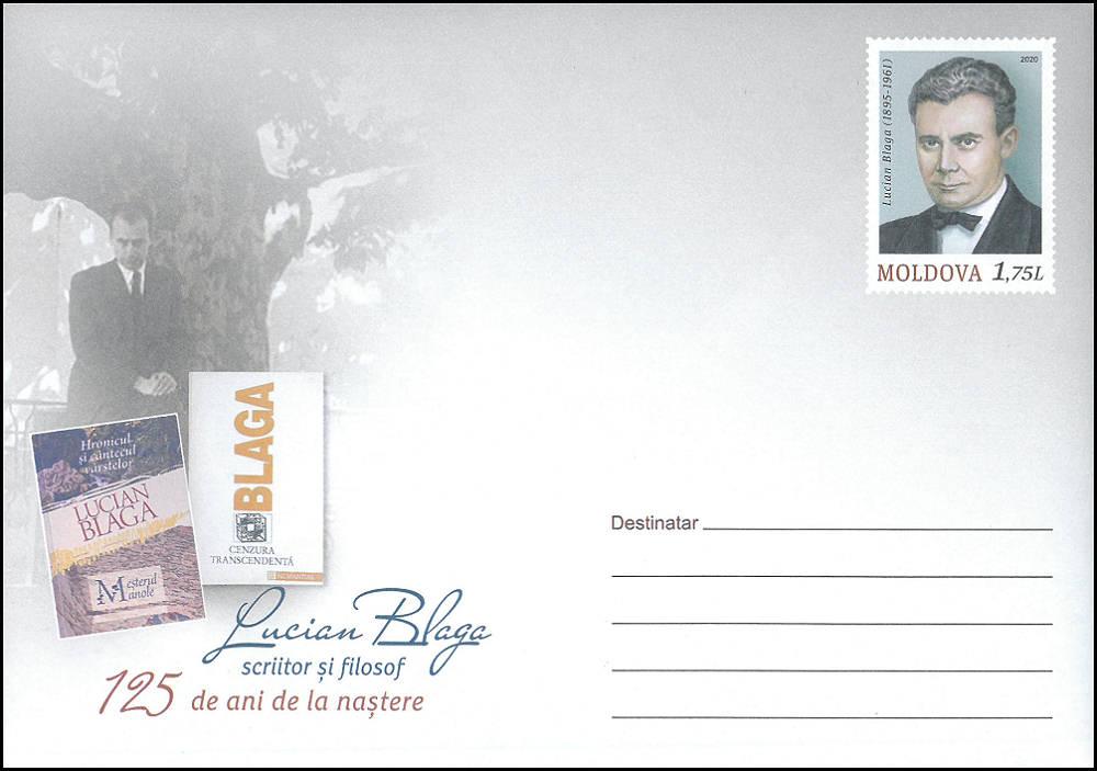 Envelope: Published Works of Lucian Blaga (Address Side)
