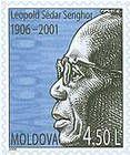 Léopold Sédar Senghor (1906-2001). First President of Senegal. Founder of Organisation Internationale de la Francophonie