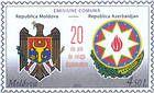 State Arms of Moldova and Azerbaijan