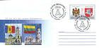 № U320 FDC - 20 Years of Diplomatic Relations Between Moldova and Lithuania 2012