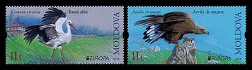 № - 1096-1097 - EUROPA 2019: National Birds