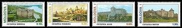 № - 178-181 - Moldavian Medieval Forts (I)