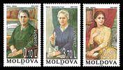 № - 210-212 - EUROPA 1996 - Famous Women