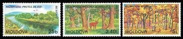 № - 305-307 - EUROPA 1999 - Nature Reserves and Parks