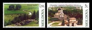 № - 465-466 - 10th Anniversary of the Moldovan «Europa» Stamps
