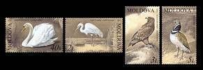 № - 481-484 - From The Red Book of the Republic of Moldova: Birds