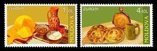 № - 511-512 - EUROPA 2005 - Gastronomy