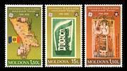 № - 517-519 - 50th Anniversary of the First «EUROPA» Stamps
