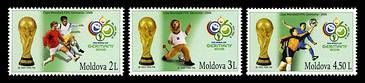 № - 552-554 - Soccer World Cup, Germany 2006