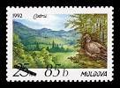 «Codrii» Stamp (№ 4 - 1992). Surcharged «85b»