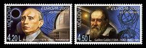 № - 650-651 - EUROPA 2009 - Astronomy