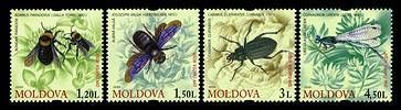 № - 659-662 - From The Red Book of the Republic of Moldova: Insects