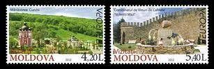 № - 793-794 - EUROPA 2012 - Visit Moldova