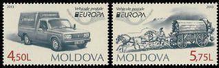 EUROPA 2013 - Postal Vehicles