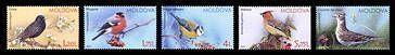 № - 923-927 - Birds of Moldova (IV)