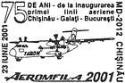 Inauguration of the First Air Route: Chisinău-Galați-Bucharest - 75th Anniversary