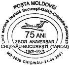 First Flight Between Chișinău and Bucharest by TAROM - 75th Anniversary 2001