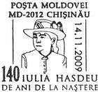 Iulia Hasdeu - 140th Anniversary of Her Birth 2009