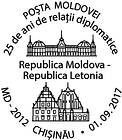 Diplomatic Relations with Latvia - 25 Years
