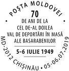 Second Wave of Mass, Forced Deportations from Bessarabia - 70th Anniversary