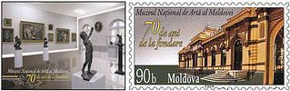 № - P141 - National Museum of Art of Moldova - 70th Anniversary