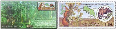 № - U301 - Codrii Nature Reserve - 40th Anniversary