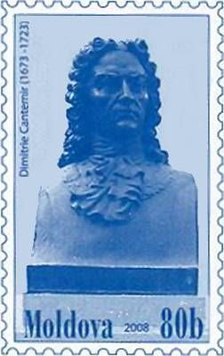 Fixed Stamp: Dimitrie Cantemir (1673-1723)